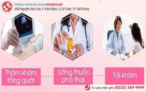 Bác sĩ chuyên khoa tư vấn bỏ thai bằng thuốc an toàn