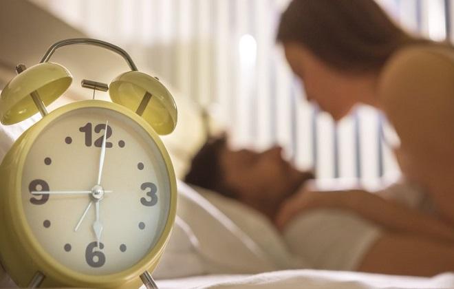 tần suất quan hệ để dễ thụ thai
